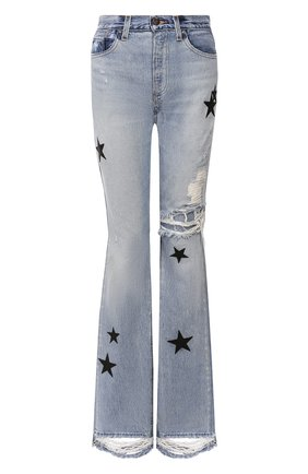 Женские джинсы AMIRI голубого цвета, арт. Y0W01406RD | Фото 1