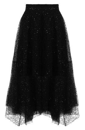 Женская юбка BRUNELLO CUCINELLI черного цвета, арт. MA960G2908 | Фото 1