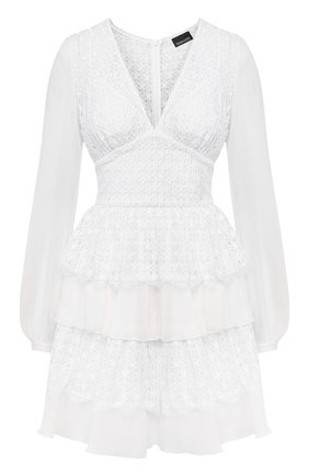 Женское платье ERMANNO ERMANNO SCERVINO белого цвета, арт. 46T AB43 SAN   Фото 1