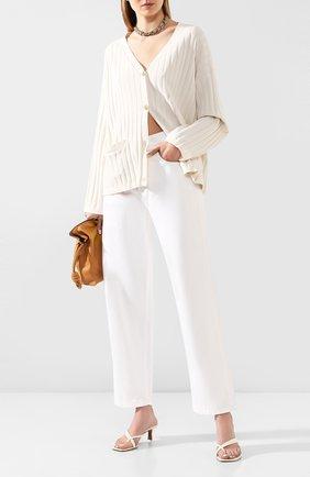 Женские джинсы ACNE STUDIOS белого цвета, арт. C00006/W | Фото 2