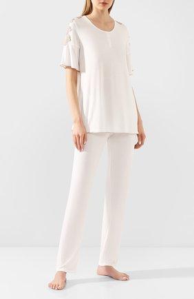 Женская пижама IMEC кремвого цвета, арт. 71215 | Фото 1
