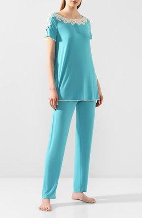 Женская пижама IMEC бирюзового цвета, арт. 71214 | Фото 1