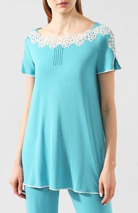 Женская пижама IMEC бирюзового цвета, арт. 71214 | Фото 2