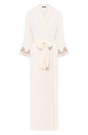 Женский халат RITRATTI MILANO кремвого цвета, арт. 71123 | Фото 1