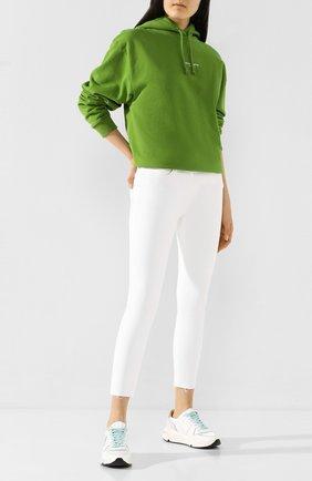 Женские джинсы 3X1 белого цвета, арт. W2XCT0552/WHITE TEAR | Фото 2