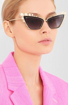 Мужские солнцезащитные очки DOLCE & GABBANA черного цвета, арт. 2254H-13348G | Фото 2