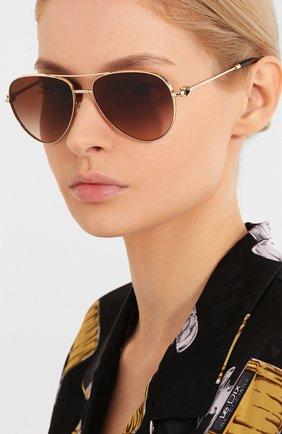Мужские солнцезащитные очки VALENTINO коричневого цвета, арт. 2034-300313 | Фото 2