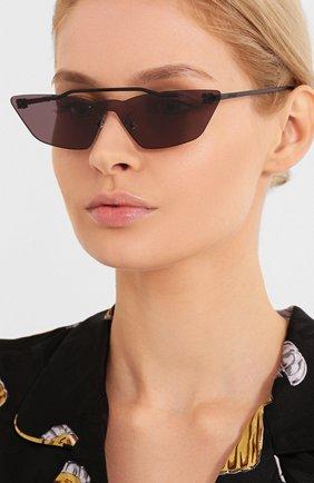 Мужские солнцезащитные очки OFF-WHITE черного цвета, арт. 0WRI018S20MET0011000 | Фото 2