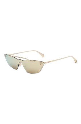 Мужские солнцезащитные очки OFF-WHITE золотого цвета, арт. 0WRI018S20MET0017600 | Фото 1