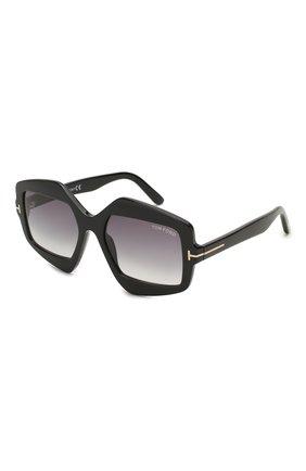 Мужские солнцезащитные очки TOM FORD черного цвета, арт. TF789 | Фото 1