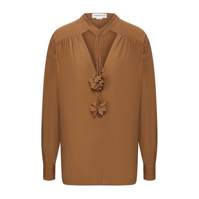 Блузка из вискозы Victoria Beckham
