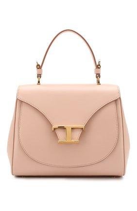 Женская сумка t singola TOD'S светло-розового цвета, арт. XBWTSIJ0100R0R | Фото 1