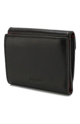 Женские кожаный кошелек COACH черного цвета, арт. 85994 | Фото 2