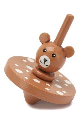 Детского юла мишка BLOOMINGVILLE коричневого цвета, арт. 56200882 | Фото 1