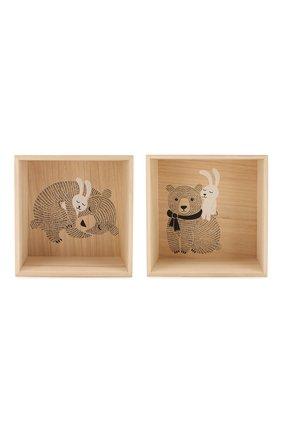 Детского набор из 2-х полок BLOOMINGVILLE белого цвета, арт. 50206321 | Фото 1