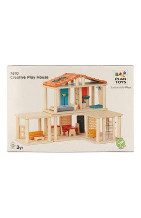Детского кукольный дом с мебелью PLAN TOYS разноцветного цвета, арт. 7610 | Фото 1
