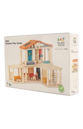 Детского кукольный дом с мебелью PLAN TOYS разноцветного цвета, арт. 7610 | Фото 2
