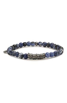 Мужской браслет TATEOSSIAN синего цвета, арт. BR0651 | Фото 1