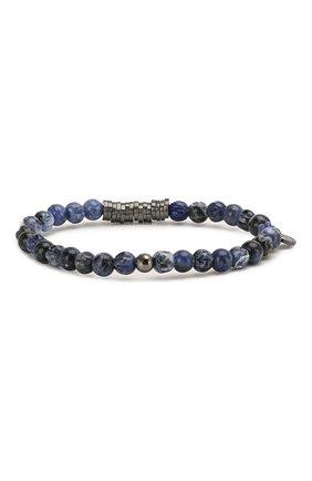 Мужской браслет TATEOSSIAN синего цвета, арт. BR0651 | Фото 2