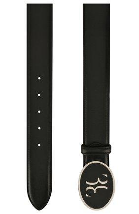 Мужской кожаный ремень BILLIONAIRE черного цвета, арт. I20A MVA0570 BLE029N | Фото 2