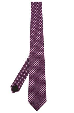 Мужской шелковый галстук BOSS бордового цвета, арт. 50434739 | Фото 2