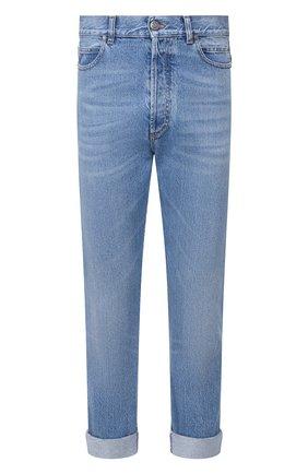Мужские джинсы BALMAIN синего цвета, арт. TH05754/Z647 | Фото 1