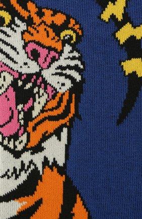 Мужские носки DSQUARED2 темно-синего цвета, арт. DFV141870 | Фото 2