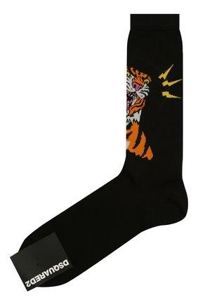 Мужские носки DSQUARED2 черного цвета, арт. DFV141870 | Фото 1