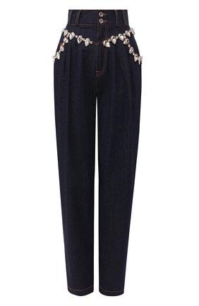 Женские джинсы DOLCE & GABBANA темно-синего цвета, арт. FTB0LZ/G900B | Фото 1