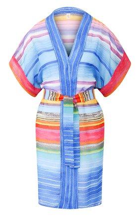 Женское туника с поясом GOTTEX разноцветного цвета, арт. 20PR627   Фото 1