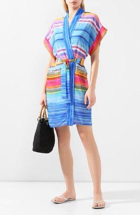 Женское туника с поясом GOTTEX разноцветного цвета, арт. 20PR627   Фото 2
