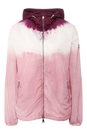 Женская куртка olive MONCLER розового цвета, арт. F1-093-1A722-60-C0474 | Фото 1