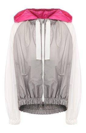 Женская куртка MONCLER серебряного цвета, арт. F1-093-1A741-00-C0393 | Фото 1