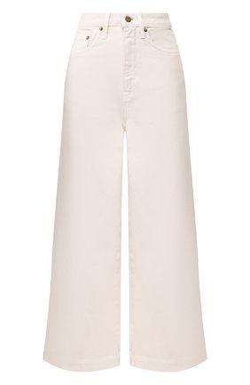 Женские джинсы NANUSHKA кремвого цвета, арт. RAM0S_CREME_DENIM | Фото 1