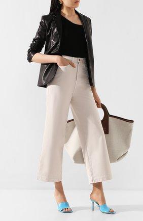 Женские джинсы NANUSHKA кремвого цвета, арт. RAM0S_CREME_DENIM | Фото 2
