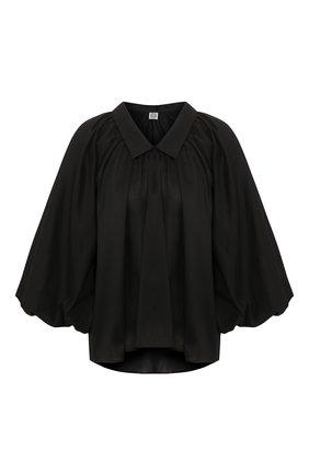 Женская блузка TOTÊME черного цвета, арт. KERALA 202-702-711 | Фото 1