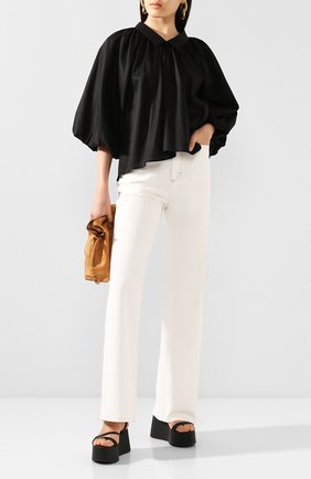 Женская блузка TOTÊME черного цвета, арт. KERALA 202-702-711 | Фото 2