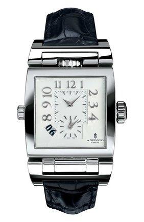 Мужские часы steel rotating DE GRISOGONO белого цвета, арт. DOPPIO TRE TR N02 | Фото 1