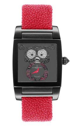 Женские часы uno crazymals DE GRISOGONO черного цвета, арт. UNO CRAZYMALS N01 | Фото 1