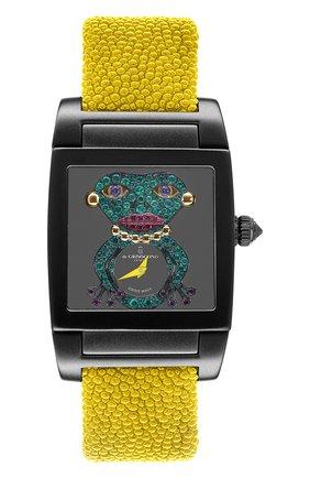 Женские часы uno crazymals DE GRISOGONO черного цвета, арт. UNO CRAZYMALS N04 | Фото 1