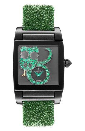 Женские часы uno crazymals snake DE GRISOGONO черного цвета, арт. UNO CRAZYMALS N05 | Фото 1