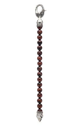 Мужской браслет STEPHEN WEBSTER бесцветного цвета, арт. 3011119 | Фото 2 (Материал сплава: Серебро; Драгоценные камни: Другие)