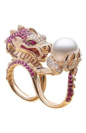 Женские кольцо на два пальца STEPHEN WEBSTER розового золота цвета, арт. 3015266 | Фото 1