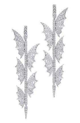 Женские серьги STEPHEN WEBSTER белого золота цвета, арт. 3016364   Фото 1