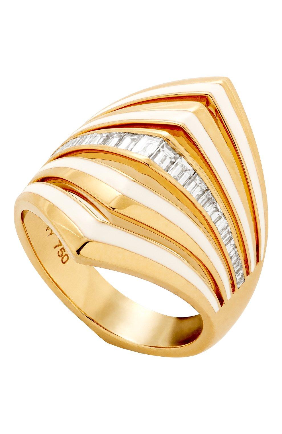 Женские кольцо STEPHEN WEBSTER желтого золота цвета, арт. 3021659 | Фото 1