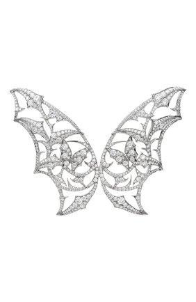 Женские брошь STEPHEN WEBSTER бесцветного цвета, арт. 3009360001 | Фото 1