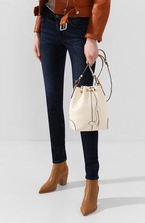 Женская сумка TOD'S белого цвета, арт. XBWDBAK0100XPA | Фото 2