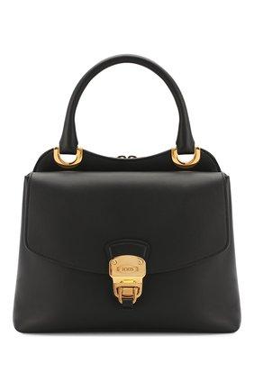 Женская сумка TOD'S черного цвета, арт. XBWA0JI0200XPA | Фото 1
