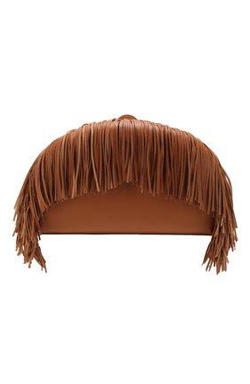 Женская сумка heel LOEWE коричневого цвета, арт. 126.54AC06   Фото 1