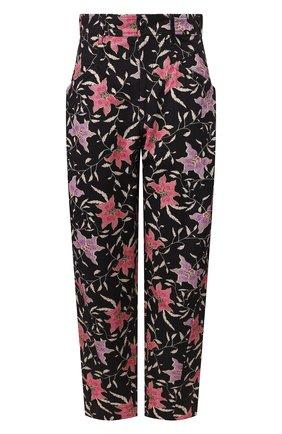 Женские хлопковые брюки ISABEL MARANT разноцветного цвета, арт. PA1699-20E047I/GUBAIA | Фото 1